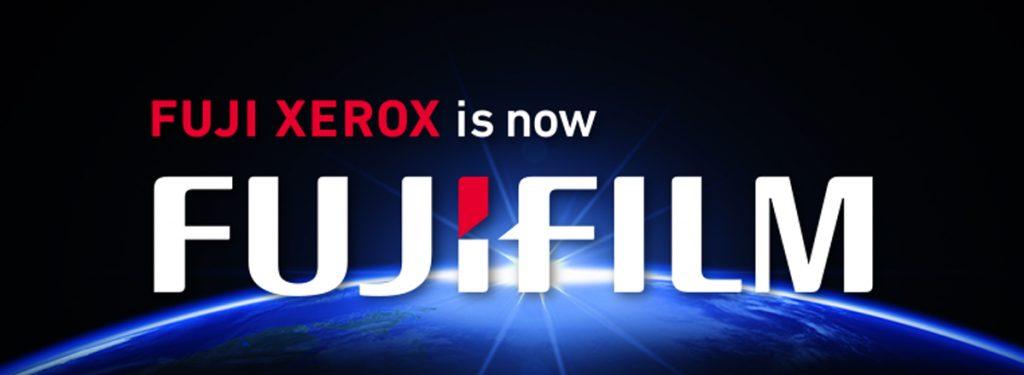 Fuji Xerox is now Fuji Film